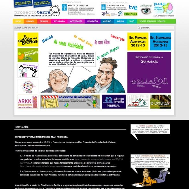 joomla-web-proxectoterra